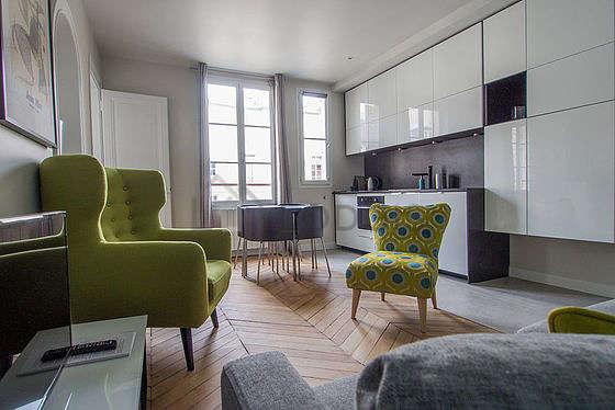 Living room of 19m²