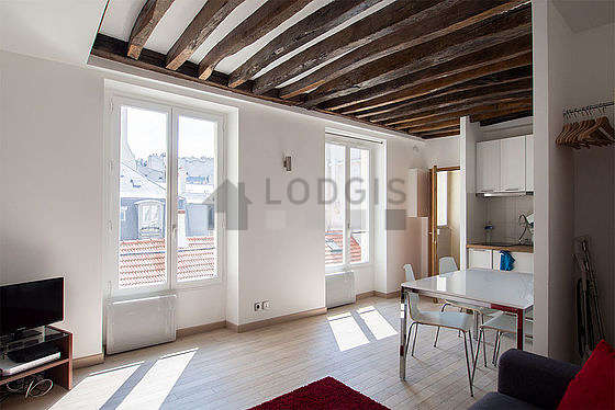 Paris Le Marais Rue Saint Gilles Monthly Furnished Rental