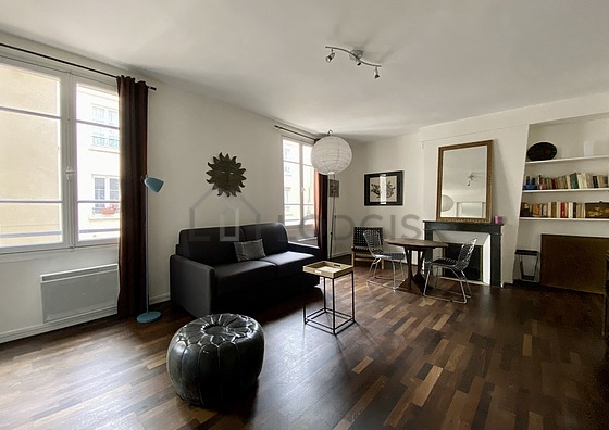 Location studio avec chemin e et concierge paris 15 rue for Location studio meuble paris 15