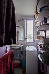 Appartamento Parigi 19° - Sala da bagno