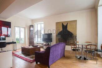 Notre Dame des Champs Париж 6° 2 спальни Квартира