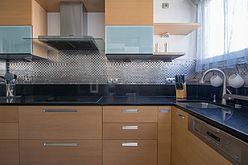 雙層公寓 巴黎16区 - 廚房