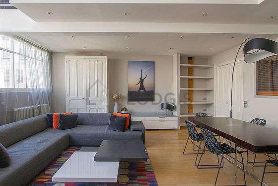 Magnifique séjour très calme et très lumineux d'un duplex à Paris