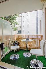 公寓 巴黎11区 - 陽台