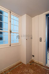 Appartement Paris 2° - Dressing