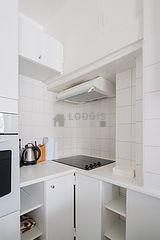 雙層公寓 巴黎7区 - 廚房