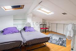 Duplex Paris 7° - Chambre