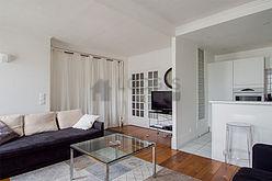 Duplex Paris 7° - Séjour