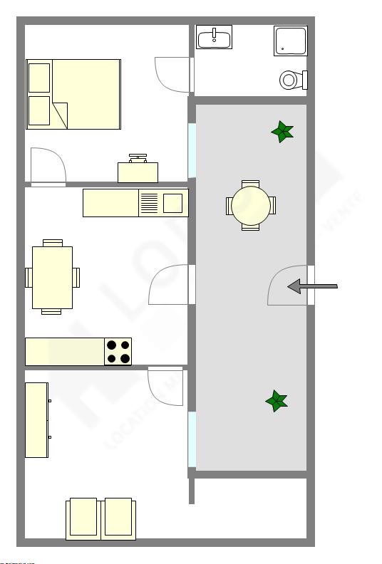 Maison individuelle Seine st-denis Nord - Plan interactif