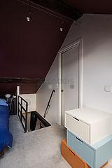 Duplex Paris 4° - Chambre