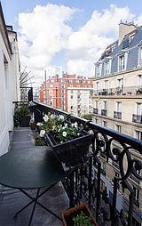 公寓 巴黎17区 - 陽台
