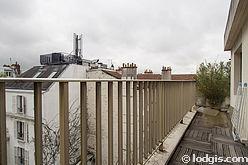 Apartamento París 5° - Terraza