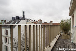 Appartement Paris 5° - Terrasse
