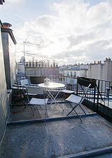 Appartement Paris 7° - Terrasse