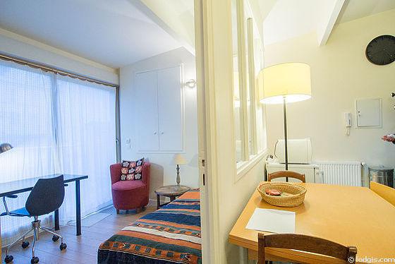 Location appartement 2 chambres avec terrasse paris 16 rue talma meubl 40 m trocad ro passy - Appartement meuble paris 16 ...