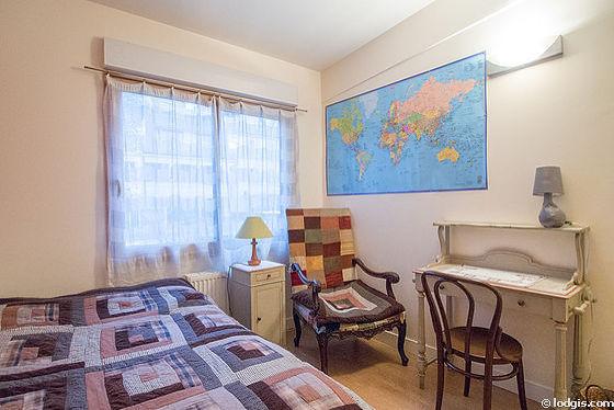 Maison Paris 16° - Chambre