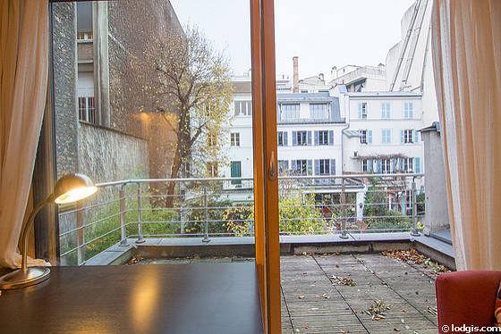 location appartement 2 chambres avec terrasse paris 16 rue talma meubl 40 m trocad ro passy. Black Bedroom Furniture Sets. Home Design Ideas