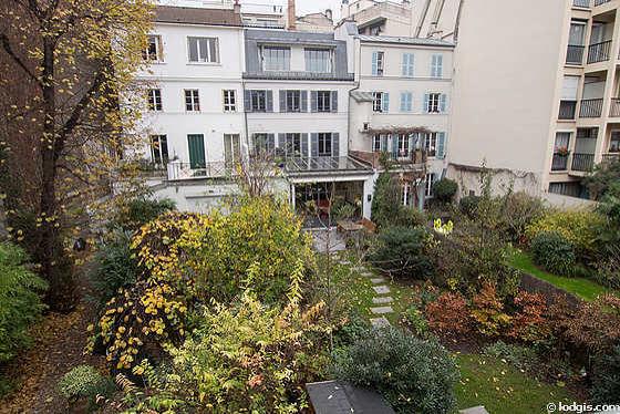 Location appartement 2 chambres avec terrasse paris 16 for Jardin 16eme