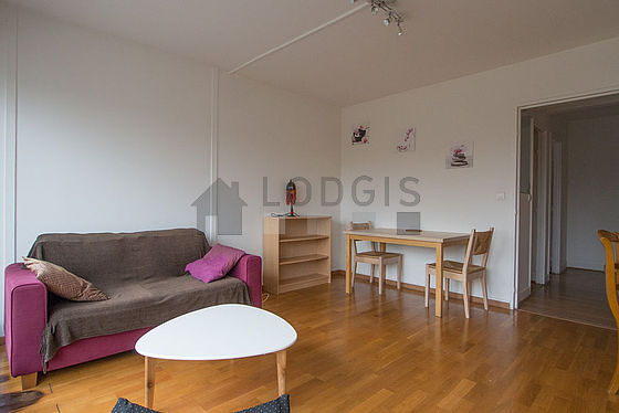 Very quiet living room furnished with 1 sofabed(s) of 140cm, tv, 1 armchair(s), 3 chair(s)