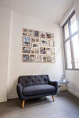 Apartment Paris 20° - Living room