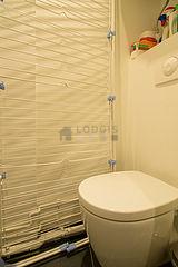 アパルトマン パリ 20区 - トイレ