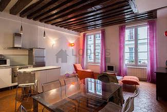 Grands Boulevards - Montorgueil Париж 2° 2 спальни Квартира