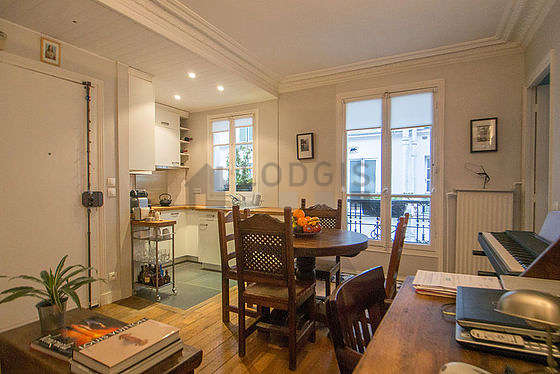 Apartment Paris 18 Living Room