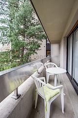 Apartamento París 16° - Terraza