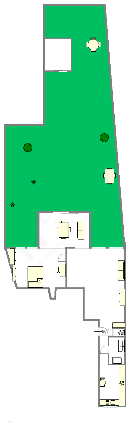 Apartamento Hauts de seine Sud - Plano interativo