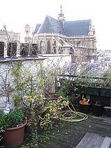 三層式公寓 巴黎1区 - 陽台