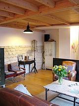 三層式公寓 巴黎1区 - 客廳