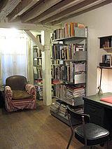 三層式公寓 巴黎1区 - 書房