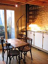 tríplex París 1° - Cocina