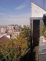 Triplex Paris 1° - Terraça