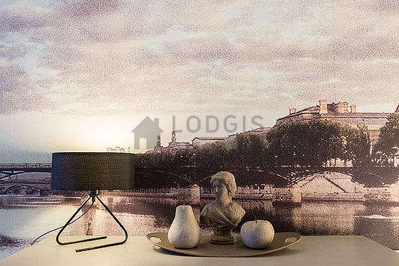 Séjour calme d'un appartement à Paris