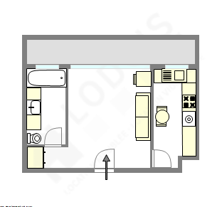 Apartment Paris 15° - Interactive plan