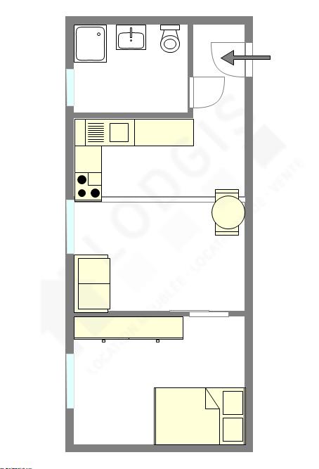 公寓 Seine st-denis Est - 互動圖