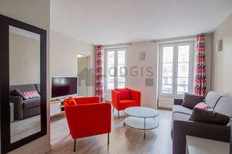 République Париж 11° 2 спальни Квартира