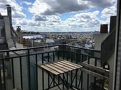 公寓 巴黎9区 - 陽台