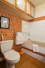 Apartamento París 4° - Cuarto de baño