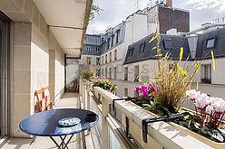 Appartement Paris 4° - Terrasse