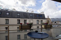 Appartement Paris 4° - Terrasse
