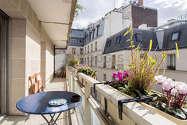 Квартира Париж 4° - Терраса