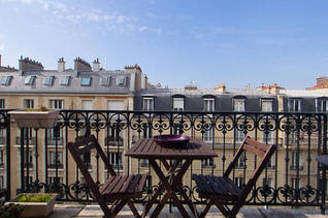 Auteuil Paris 16° 2 quartos Apartamento