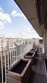 Appartement Paris 16° - Terrasse