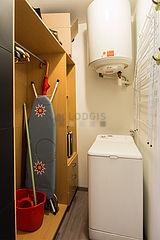 Appartement Paris 2° - Buanderie