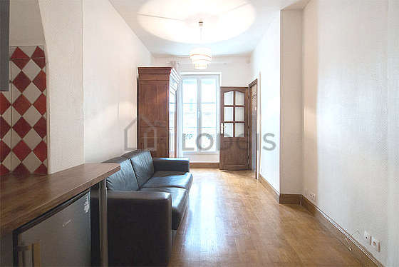 Location Studio Paris 15 Rue Blomet Meublé 25 M² Porte De
