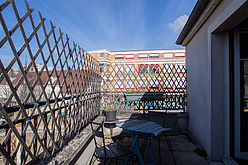 Apartamento París 20° - Terraza