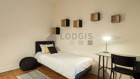 Chambre très calme pour 1 personnes équipée de 1 lit(s) de 80cm