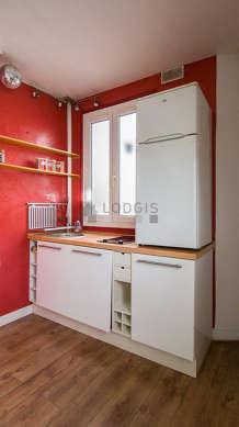 Cuisine dînatoire pour 6 personne(s) équipée de lave linge, sèche linge, réfrigerateur, vaisselle
